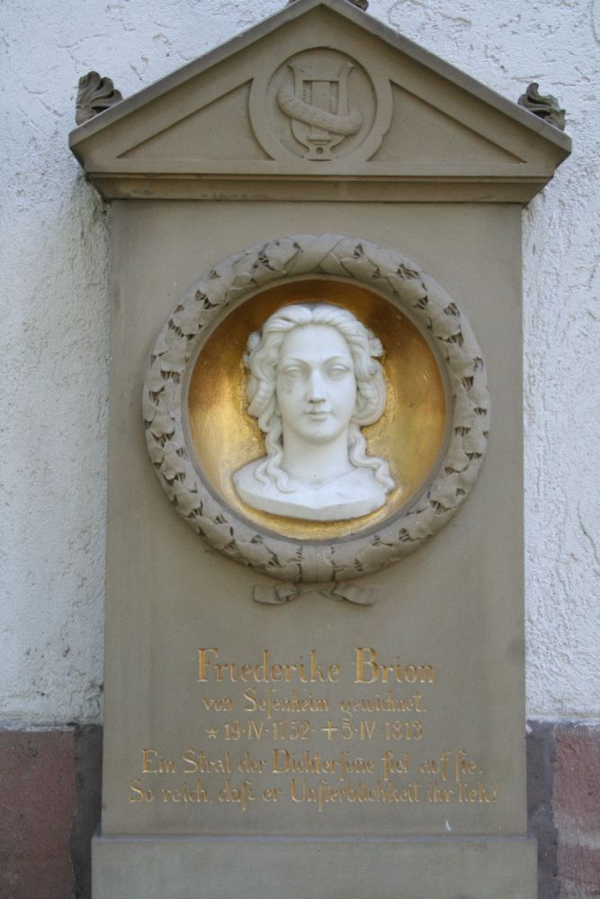 Friederike Brion Grabstein