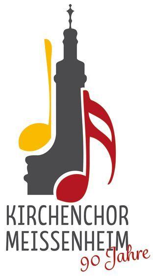 Kirchenchor Logo 90Jahre
