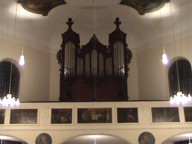 Orgel Frontansicht