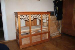Rohbau unserer kleinen Orgel